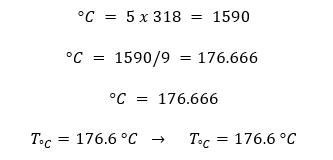 grados Fahrenheit a Centígrados ejercicio